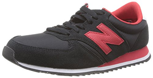 New Balance 420, Unisex-Erwachsene Sneakers, Schwarz (Black/Red), 42.5 EU (8.5 UK)