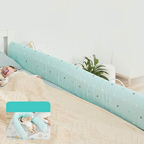 QLL Bettumrandung Home Dekoration Baby Nestchen Kinderbett Stoßstange Weben Kantenschutz Bettschutzgitter Bumper Home Jugendbetten Bettgitter (Size : B-180cm)