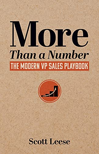 Real Estate Investing Books! - More Than a Number: The Modern VP Sales Playbook