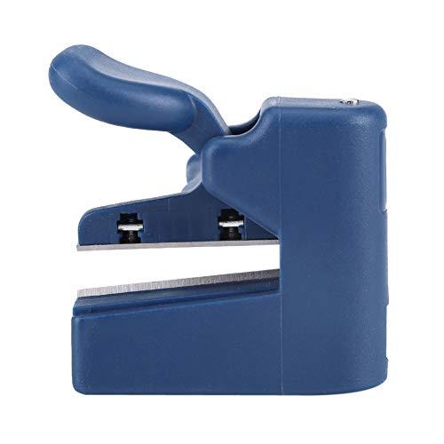 Atyhao Recortadora de Extremo Manual Dispositivo de Corte Bandas de Borde de Corte Recto Redondo para recortadoras de Guillotina de Papel para carpintería