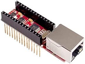 Yoneix Nano V3 Ethernet Shield ENC28J60 Microchip HR911105A Ethernet Webserver Board Module for Arduino Nano 3.0(1PCS)