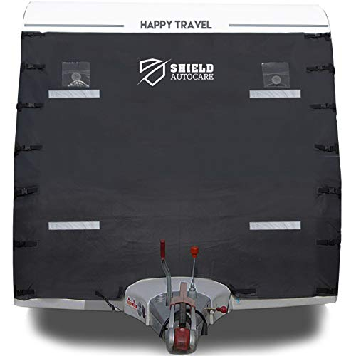 Shield Autocare Caravan Front Towering Guard Full Cover Protector LED lights CVAN-F-COV