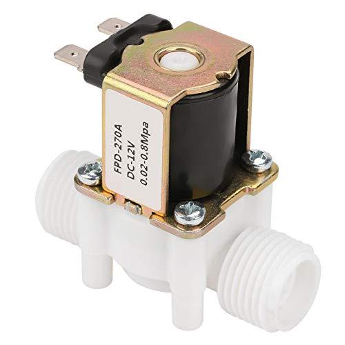 Entrada eléctrica de plástico Válvula solenoide de entrada de agua Válvula de...