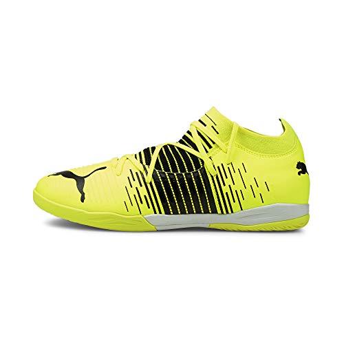 Puma Future Z 3.1 IT, Zapatillas de Futsal Hombre, Yellow Alert Black White, 40.5 EU