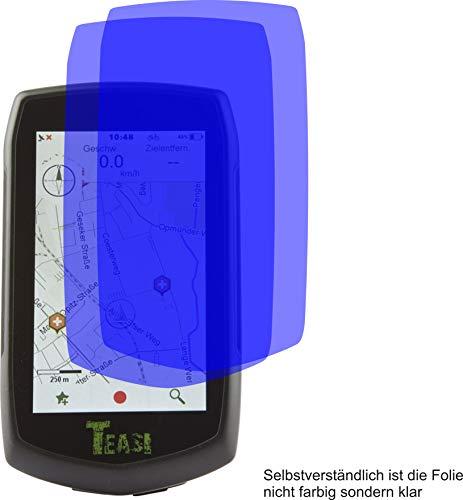 4ProTec I 2X Crystal Clear klar Schutzfolie für Teasi One4 One 4 Displayschutzfolie Bildschirmschutzfolie Schutzhülle Displayschutz Displayfolie Folie