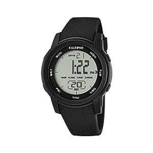 Calypso K5698/6 – Reloj de Pulsera Unisex, Plástico, Color Negro