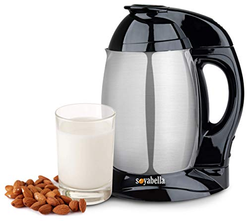 Tribest SB-130R-B Soyabella Soymilk and Nut Milk Maker, Certified Refurbished, Stainless Steel