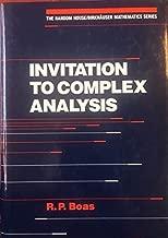 Invitation to complex analysis (The Random House/Birkhäuser mathematics series)