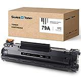 SWISS TONER CF279A Cartucho de tóner Compatible para HP 79A CF279A para HP Laserjet Pro M12 M12W M12A M26 M26A M26NW Impresora,1xNegro