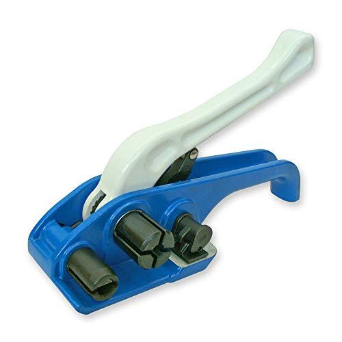 Preisvergleich Produktbild Bandspanner für Umreifungsband 9-25 mm,  Spanngerät,  Holzbündelgerät,  Umreifungsgerät