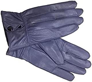 YANXH Mens Gloves Warm Plus Cashmere Sheepskin Autumn Winter Wind Gloves