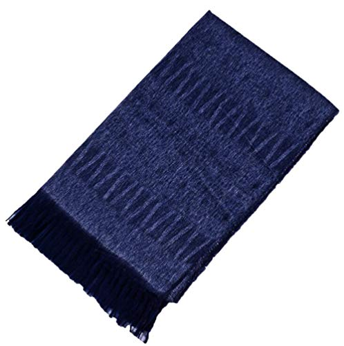 Dames sjaal kwastje imitatie kasjmier zachte gebreide warme sjaal lichte sjaals grote deken wrap
