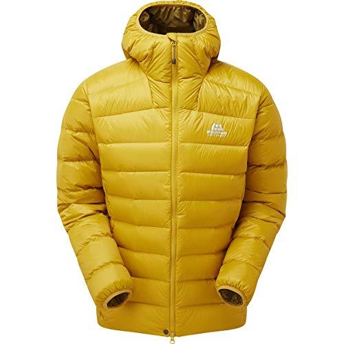 Mountain Equipment M Skyline Hooded Jacket Gelb, Herren Daunen Freizeitjacke, Größe M - Farbe Acid