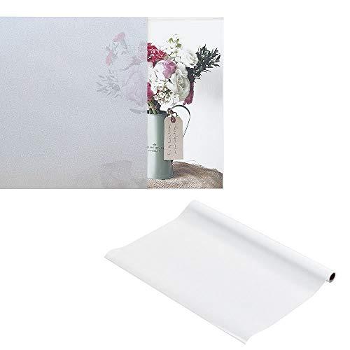 Unbekannt Melko® Protection Film/fenêtre Statique, Autocollant, temperaturbeständig, Verre dépoli, 90 x 200 cm