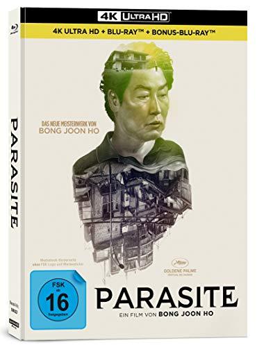 Parasite (Mediabook B, UHD, Blu-ray, Bonus-Blu-ray)