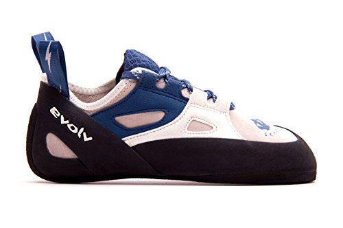 Evolv Skyhawk Climbing Shoe - Women's White/Blue 8