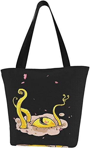 Jojo's Bizarre Queen Killer wiederverwendbare Einkaufstasche Schultertasche für Geschenk Einkaufen Schule, - Assassination Klassenzimmer Koro Sensei - Größe: Einheitsgröße