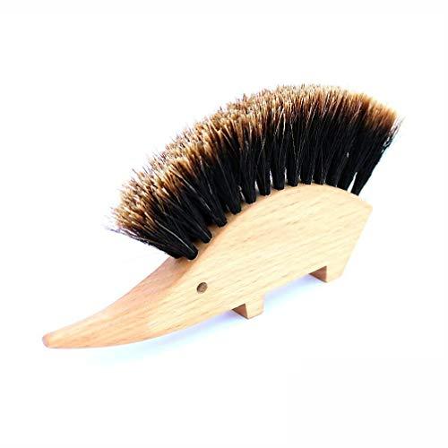 [REDECKER/レデッカー]はりねずみのテーブルブラシ(split馬毛)