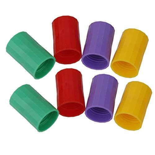 Zeagro Vortex Flaschenverbinder, Tornado in einer Flasche, Brunnenanschluss, Cyclone Tube Tornado, Farbe zufällig