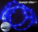 LifeShift Ladekabel Datenkabel Leuchtend fließende LED...
