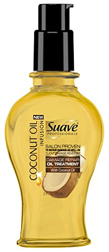 Suave Professionals Damage Repair Oil Treatment, Coconut Infusion, 3 Ounce