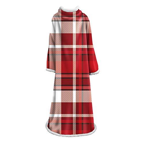 DALLL - Manta con mangas y bolsillo, funda para abrigo, 18