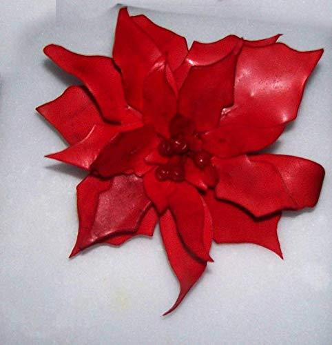 Sugarcraft FMM 7 PIECE POINSETTIA CUTTER SET/Christmas