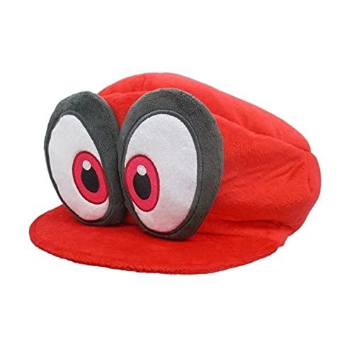 Peluche Mario Super Mario Odyssey Cappy Sombreros Bros Luigi Waluigi Wario Gorras Accesorios de fiesta para niños Juguetes Cosplay suave Adultos Diversión al aire libre Deportes