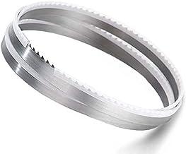 X-BAOFU, 2 Piezas 1712mm carpintería Band Hojas de Sierra 1712 * 13 * 0.55mm * 4Tpi Hojas de Sierra de 13 * 0.55 * 1712mm * 4 Dientes de Hojas de Sierra de Madera cuttting (tamaño : 1712x13x0.55mm)