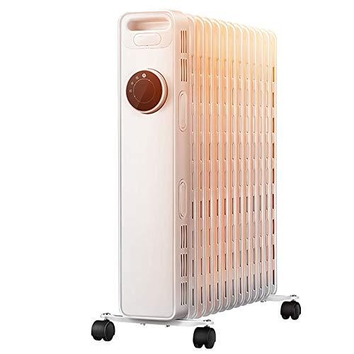 Calentador eléctrico de aceite Calentador eléCtrico Vertical de Ahorro de Energía DoméStico,...