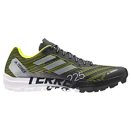 adidas Terrex Speed Pro SG, Zapatillas de Trail Running Unisex Adulto, NEGBÁS/FTWBLA/Amasol, 39 1/3 EU