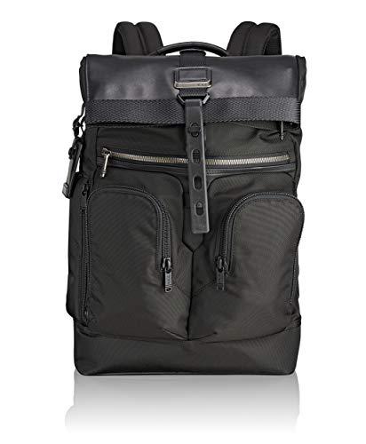 "Tumi Alpha Bravo - London Roll-Top Backpack 15"" Zaino Casual, 48 cm, 24.1 liters, Nero (Black)"