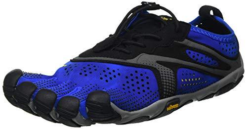 Vibram V-Run, Zapatillas Hombre, Blue/Black, 40 EU