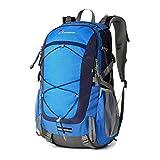 マウンテントップ(Mountaintop) バックパック 40L リュック 登山 ザック アウトドア 旅行用 バッグ リュックサック 防水 軽量 レインカバー付き