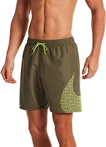 Nike 17,8 cm (7 Zoll) Volley-Shorts für Herren, Herren, Schwimm-Slips, NESSA521-211, Grün (medium Olive), M
