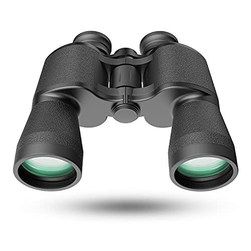 Binocolo per adulti, 20 x 50 HD professionale impermeabile anti-appannamento, potente e trasparente FMC BAK4 prisma binocolo per uccelli guardando caccia concerti viaggiando