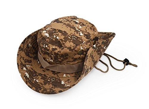 UltraKey Boonie Hut, Klassische Buschhüte, Sonnenhüte, Fischerhüte, Eimerkappen mit Armeekampfstil 11