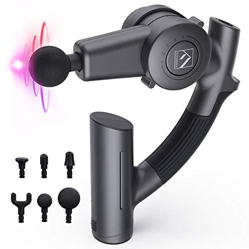 Sale!! FITINDEX Massage Gun, Deep Tissue Massage Gun Percussion Massager Muscle Massager Gun for Ath...