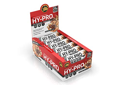 All Stars Hy-Pro BIG BAR, Chocolate Nut Crunch, 24er Pack (24 x 100 g)