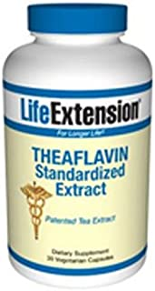 Theaflavin Standardized Extract, 30 Veg Caps by Life Extension (Pack of 6)