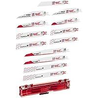 12-Pieces Milwaukee Electric Tool Sawzall Reciprocating Saw Blade Set