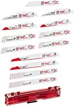 Milwaukee Electric Tool 49-22-1129 Sawzall Reciprocating Saw Blade Set, 12 Pc, White