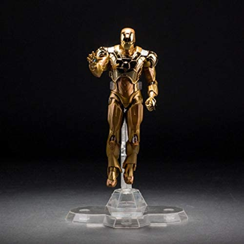 hasta un 70% de descuento SSRS Avengers Creative Creative Creative Gift Edición de coleccionista Iron Man Modelo Juguete oro Adornos de Oficina de Mano (Color   B)  entrega rápida