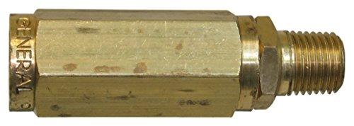 General Pump 100647 Inline High-Pressure Filter, 100 Mesh Screen, Brass, 8.0 GPM 5000 Maximum psi