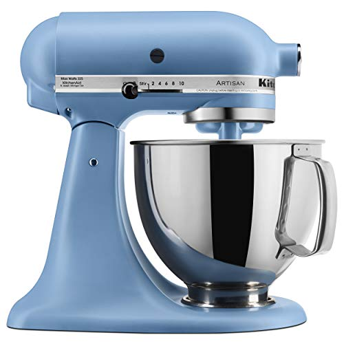 KitchenAid Artisan Stand Mixer, 5 quart, Matte Velvet Blue