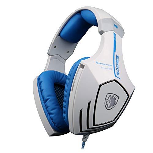 HDJX Écouteurs, écouteurs filaires, Jeux en Direct, Jeux informatiques, Casques de Jeu, Casques