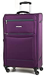 Dimension Medium- Internal Dimension – H61.5 x W42 x D26.5cm, External Dimension – H68 x W44 x D26.5cm, Weight 2.55KG Approx, Packing Capacity 68Litres (All dimensions and weights are approximate, but as accurate as possible) Ultra lightweight 4 whee...