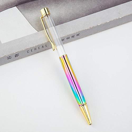 TOPNCMDH Bolígrafo de metal Regalo publicitario bolígrafo de metal Artículos de papelería promocionales útiles escolares al por mayor 10pc @ style2