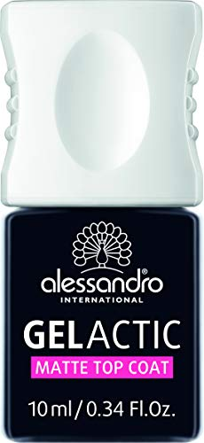 alessandro Gelactic Matte Top Coat, 1 x 10 ml