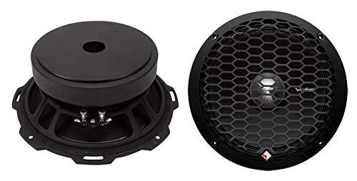 2 Rockford Fosgate PPS4-8 8-Inch 500 Watt 4-Ohm MidRange Car Stereo Speakers
